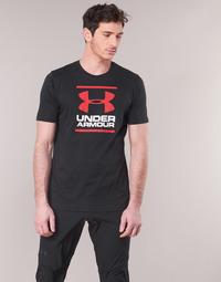 Textiel Heren T-shirts korte mouwen Under Armour GL FOUNDATION SS Zwart