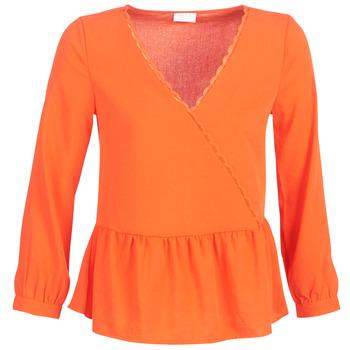 Textiel Dames Tops / Blousjes Vila VIROSSIE Oranje
