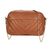 Tassen Dames Schoudertassen met riem Betty London JOYJOY Cognac