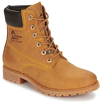 Schoenen Dames Laarzen Panama Jack PANAMA Geel