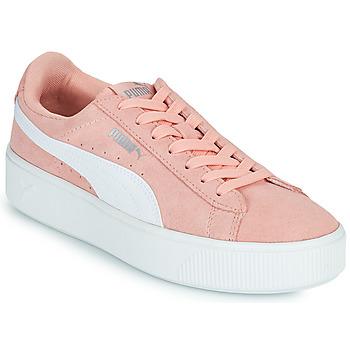 Schoenen Dames Lage sneakers Puma VIKKY STACK PEA Roze