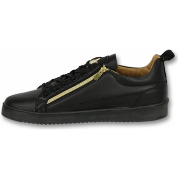 Schoenen Heren Sneakers Cash Money Heren Schoenen - Heren Sneaker Bee Black Gold - CMS97 38