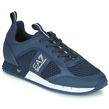 Schoenen Heren Lage sneakers Emporio Armani EA7 BLACK&WHITE LACES U Blauw