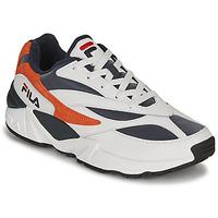 Schoenen Heren Lage sneakers Fila V94M R LOW Wit / Oranje