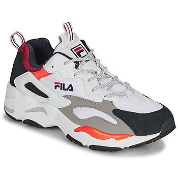 Schoenen Heren Lage sneakers Fila RAY TRACER Wit / Blauw