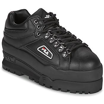 Schoenen Dames Lage sneakers Fila TRAILBLAZER WEDGE WMN Zwart