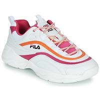 Schoenen Dames Lage sneakers Fila RAY CB LOW WMN Wit / Roze / Oranje