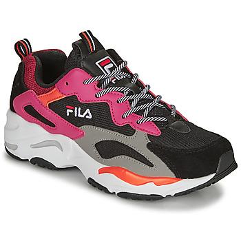 Schoenen Dames Lage sneakers Fila RAY TRACER WMN Zwart / Roze