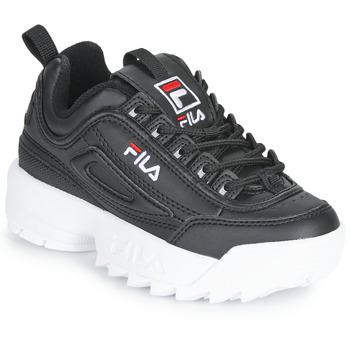 Schoenen Kinderen Lage sneakers Fila DISRUPTOR KIDS Zwart