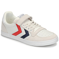 Schoenen Kinderen Lage sneakers Hummel SLIMMER STADIL LEATHER LOW JR Wit