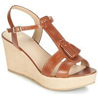 Schoenen Dames Sandalen / Open schoenen Bocage HERLE Cognac