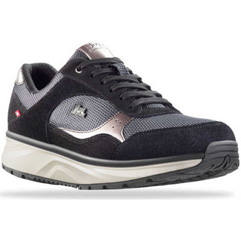Schoenen Dames Lage sneakers Joya Tina Silver Black 534