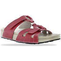 Schoenen Dames Leren slippers Joya Bern Red 534