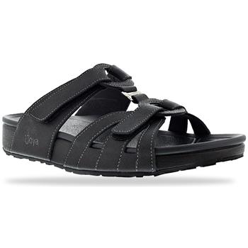 Schoenen Dames Leren slippers Joya Bern Night 534