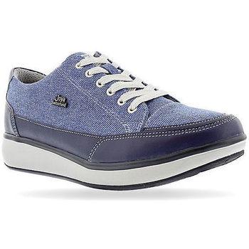 Schoenen Dames Lage sneakers Joya Sonja Blue Jeans 534
