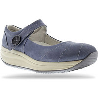 Schoenen Dames Ballerina's Joya Mary Jane Light Blue 534