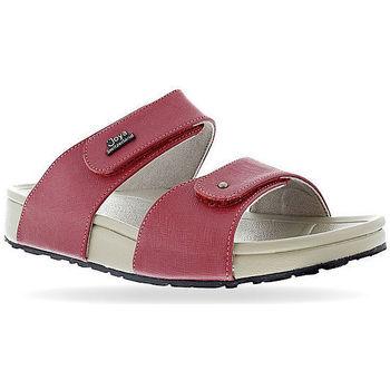 Schoenen Dames Leren slippers Joya Vienna 16 Red 534
