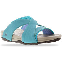 Schoenen Dames Leren slippers Joya Bali Turquoise 534