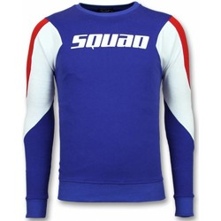 Textiel Heren Sweaters / Sweatshirts Tony Backer Three Color Trui - Squad Sweater - Blauw