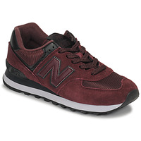 Schoenen Dames Lage sneakers New Balance 574 Bordeau