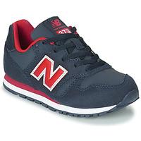 Schoenen Kinderen Lage sneakers New Balance 373 Blauw / Rood