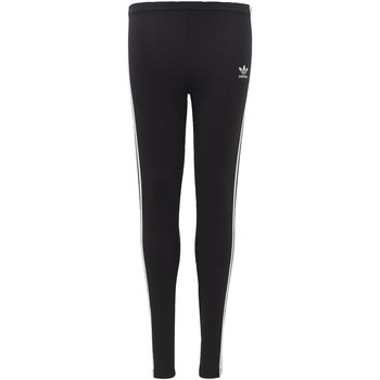 Textiel Meisjes Leggings adidas Originals 3-Stripes Legging Zwart