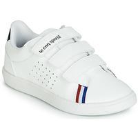 Schoenen Kinderen Lage sneakers Le Coq Sportif COURTSTAR PS SPORT BBR Wit