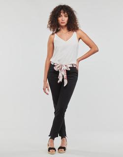 Textiel Dames 5 zakken broeken Casual Attitude JIYOO Zwart