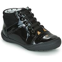 Schoenen Meisjes Hoge sneakers Catimini CIBELLE Zwart