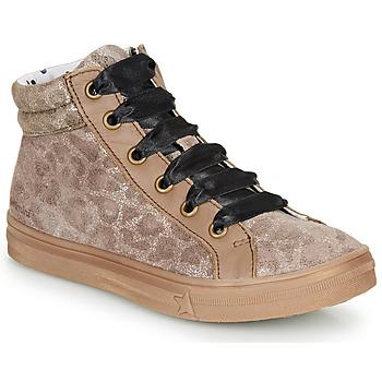 Schoenen Meisjes Hoge sneakers Catimini CALENDULE Luipaard