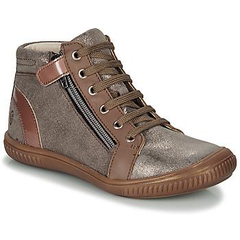 Schoenen Meisjes Hoge sneakers GBB RACHIDA Bruin