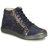 Schoenen Meisjes Hoge sneakers GBB ORENGETTE Blauw