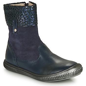 Schoenen Meisjes Laarzen GBB ORANTO Blauw