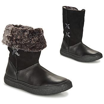 Schoenen Meisjes Laarzen GBB OLINETTE Zwart