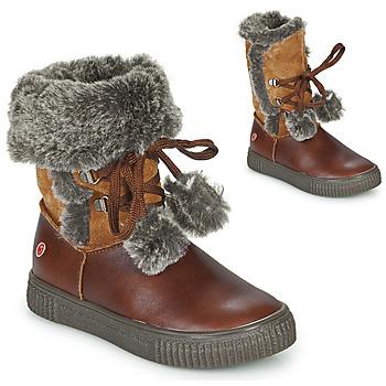 Schoenen Meisjes Laarzen GBB NOUSTIK Bruin