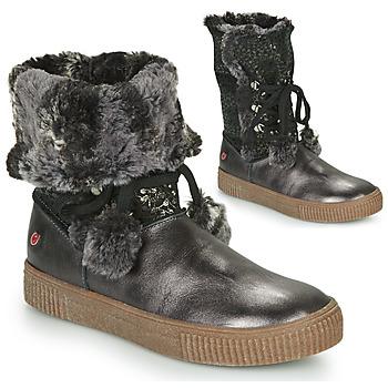 Schoenen Meisjes Hoge laarzen GBB NOUSTIK Zwart