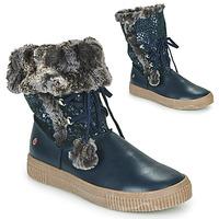 Schoenen Meisjes Laarzen GBB NOUSTIK Blauw
