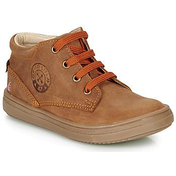 Schoenen Jongens Hoge sneakers GBB NINO Bruin