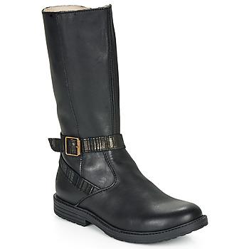 Schoenen Meisjes Hoge laarzen GBB OKINDI Zwart