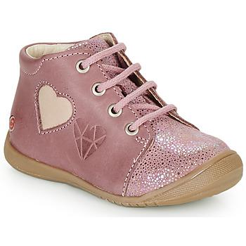 Schoenen Meisjes Hoge sneakers GBB OCALA Old / Roze