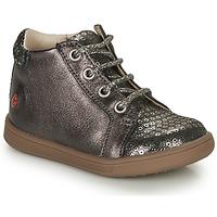 Schoenen Meisjes Hoge sneakers GBB FAMIA Grijs / Zilver