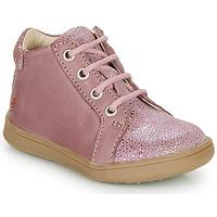 Schoenen Meisjes Hoge sneakers GBB FAMIA Old / Roze
