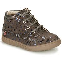 Schoenen Meisjes Hoge sneakers GBB NINON Taupe