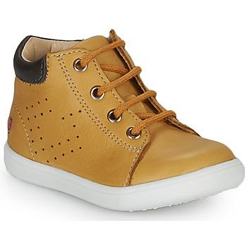 Schoenen Jongens Hoge sneakers GBB FOLLIO Oker