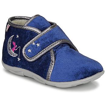 Schoenen Meisjes Sloffen GBB OCELINA Blauw