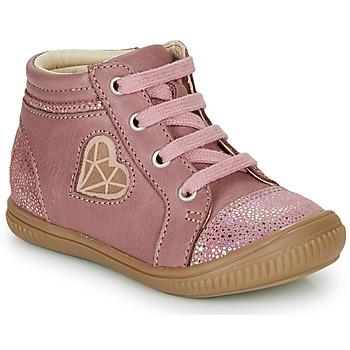 Schoenen Meisjes Hoge sneakers GBB OTANA Old / Roze