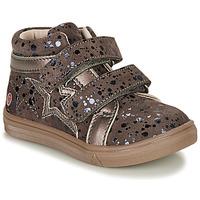 Schoenen Meisjes Hoge sneakers GBB OHANE Bruin