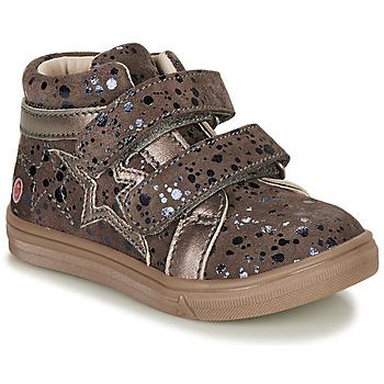 Schoenen Meisjes Hoge sneakers GBB OHANE Taupe