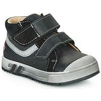 Schoenen Jongens Hoge sneakers GBB OMALLO Zwart