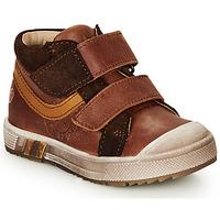 Schoenen Jongens Hoge sneakers GBB OMALLO Bruin